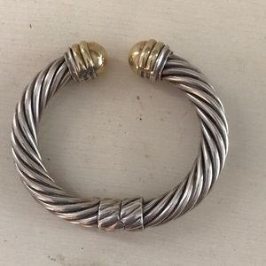 David Yurman Cable Classics Bracelet with 14K Gold